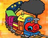Treno sorridente