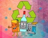 Contenitori per il riciclaggio