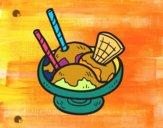 Coppa di gelato de sorvete