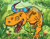 Dinosaure en colère