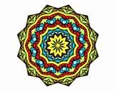 Mandala con strato