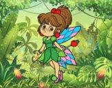 Fata magica della foresta