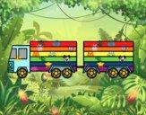 Camion di trailer