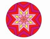 Mandala mosaico stelle
