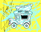 Food truck di hot dog