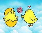 Pulcini innamorati
